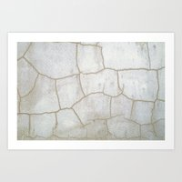 cracked Art Prints featuring Cracked  by Ethna Gillespie
