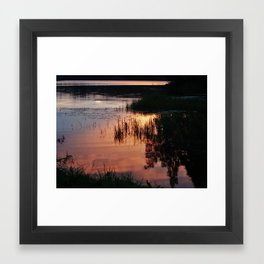 Lake 1 Framed Art Print