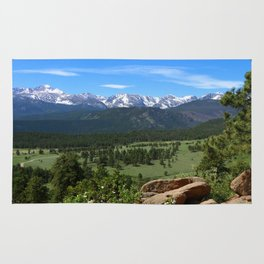 A Glorious Morning In The Rockies Rug