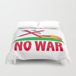 No war Duvet Cover