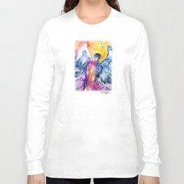 Luke Angel by Kathy Morton Stanion Long Sleeve T-shirt