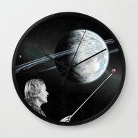 teacher Wall Clocks featuring Teacher by Cs025