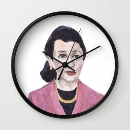 Retired: Sen. Olympia Snowe Wall Clock