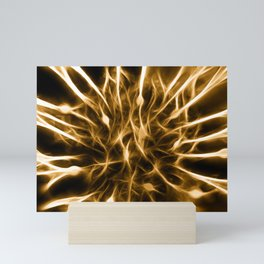 Flammable Connections Mini Art Print
