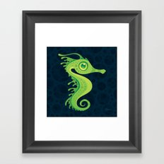 Leafy Sea Dragon Seahorse Framed Art Print