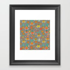 Pattern Project #4 / Esio Trot Framed Art Print