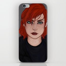 Jane Shepard iPhone Skin