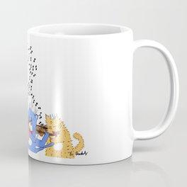 Cats with Violins Coffee Mug