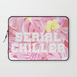 Blush pink tropical serial chiller Laptop Sleeve