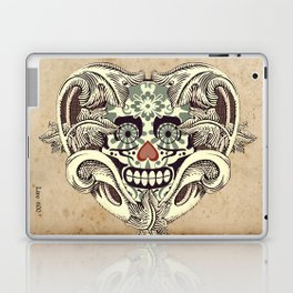 Crazy Heart Laptop & iPad Skin