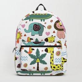 JUNGLE ANIMALS Backpack