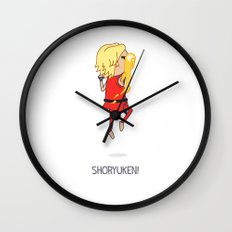 Shoryuken! Wall Clock