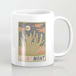 Cactus Tarot Cards- Queen of the Night Coffee Mug
