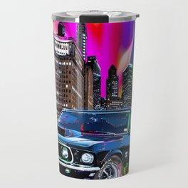 colorful muscle Travel Mug
