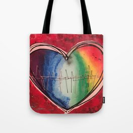 Beat of your heart Tote Bag