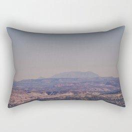 next up sun down Rectangular Pillow