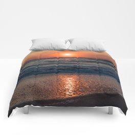 Canaveral Seashore Sunrise Comforters