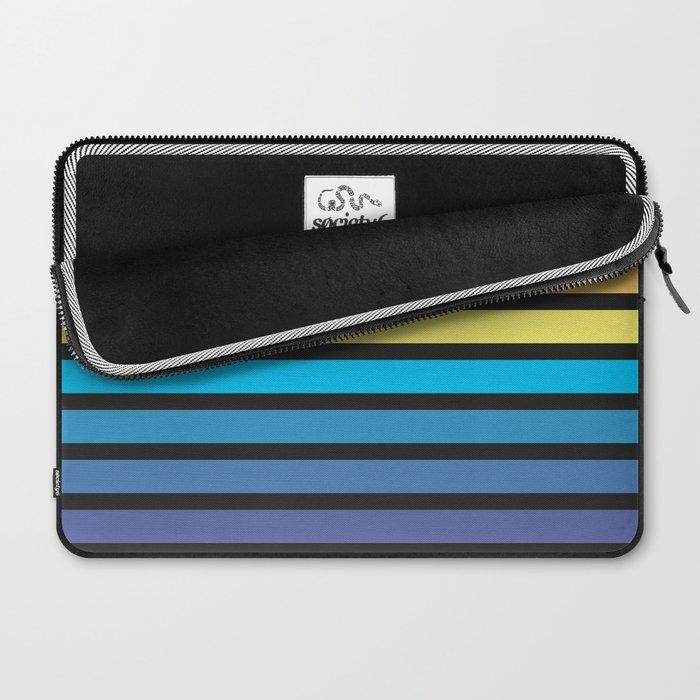 Stripe Sunset Laptop Sleeve