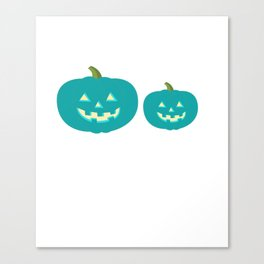 Teal Pumpkin Food Safety Allergy Momma Kids With Food Allergy Canvas Print