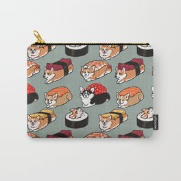 Sushi  Corgi Carry-All Pouch