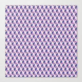Unicorn Honeycomb Canvas Print