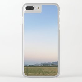 Pastel Summer Sky Clear iPhone Case