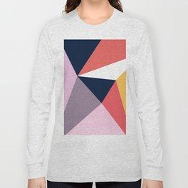 Modern Poetic Geometry Long Sleeve T-shirt