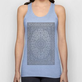 Bohemian Farmhouse Traditional Moroccan Art Style Texture Unisex Tank Top