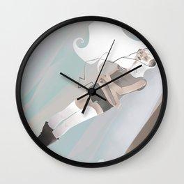 Halfway Wall Clock