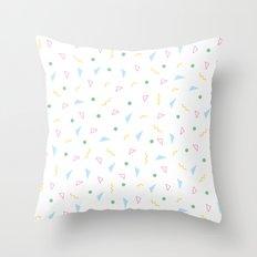80s Pattern 1 Throw Pillow
