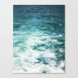 Ferrys Wake Canvas Print