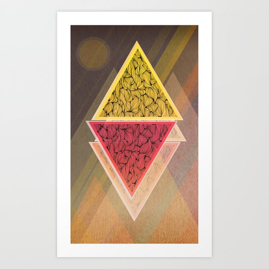 Rhombs #2 Art Print
