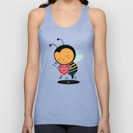 Bee Yourself Unisex Tank Top