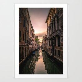 Canal of Venice Art Print