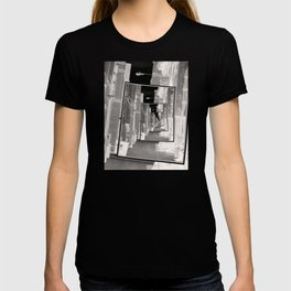Reflections of An Infrared Alley T-shirt