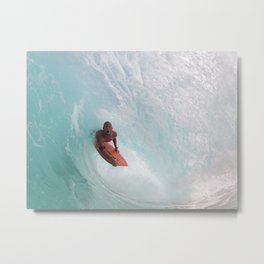 Timmy Tunnel Travel. Metal Print
