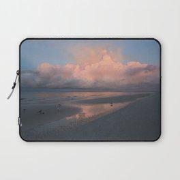 Morning Walk on the Beach Laptop Sleeve