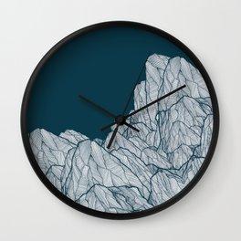 Rocks of nature Wall Clock