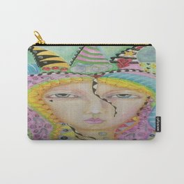 The Queen Of Everything Carry-All Pouch