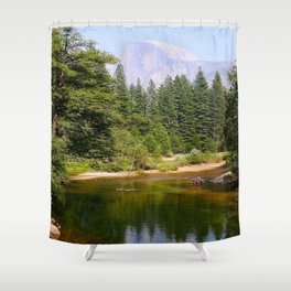 El Capitan Yosemite Shower Curtain