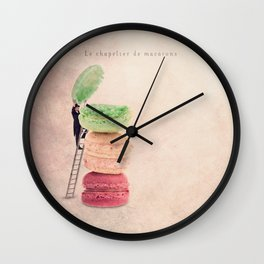 The macaroons hatter Wall Clock