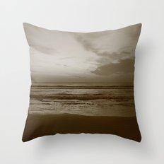 Lost Dark Sea Throw Pillow