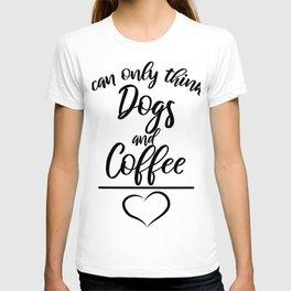 Coffee Dog Pug Lover Gift T-Shirt T-shirt