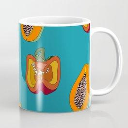 DINNER IN SPAIN BLUE Coffee Mug