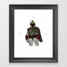 Fistful Of Credits Framed Art Print