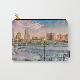 Winter Dreams - Providence, Rhode Island on a Winter's Day landscape Carry-All Pouch