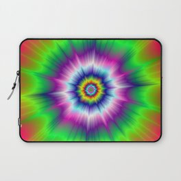 Explosive Tie-Dye Laptop Sleeve