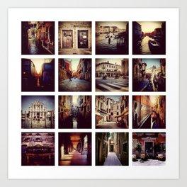 Instadeck Venice Art Print