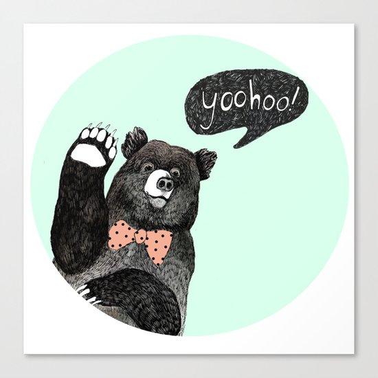 yoohoo! Canvas Print