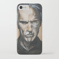 clint barton iPhone & iPod Cases featuring Clint by Niall Drew